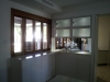 Bar with etched glass