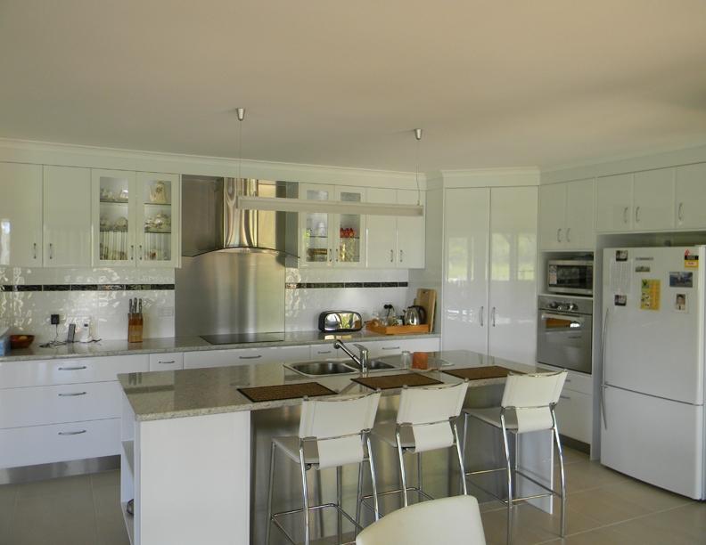 Kitchen with Island Bench