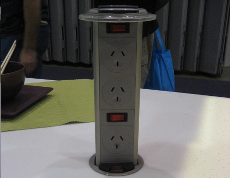Space Saving Pop Up Power Points