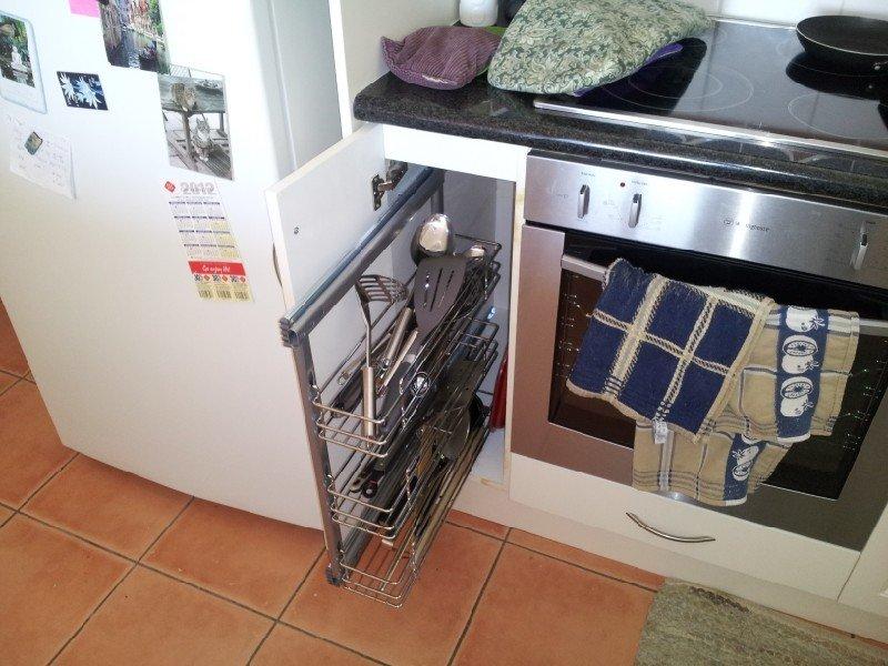 SS Cutlery cupboard