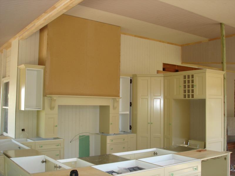 Kitchen Renovation Under Construction