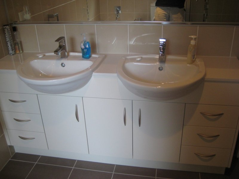Double Vanity With Ample Storage