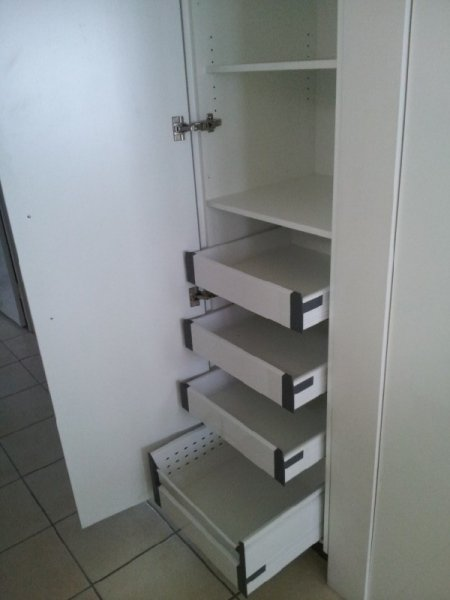 SS Slideout drawers