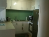 Glass splashback kitchen